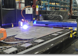 BRANNON STEEL's NEW Cutting Edge Plasma-Bevel Machine